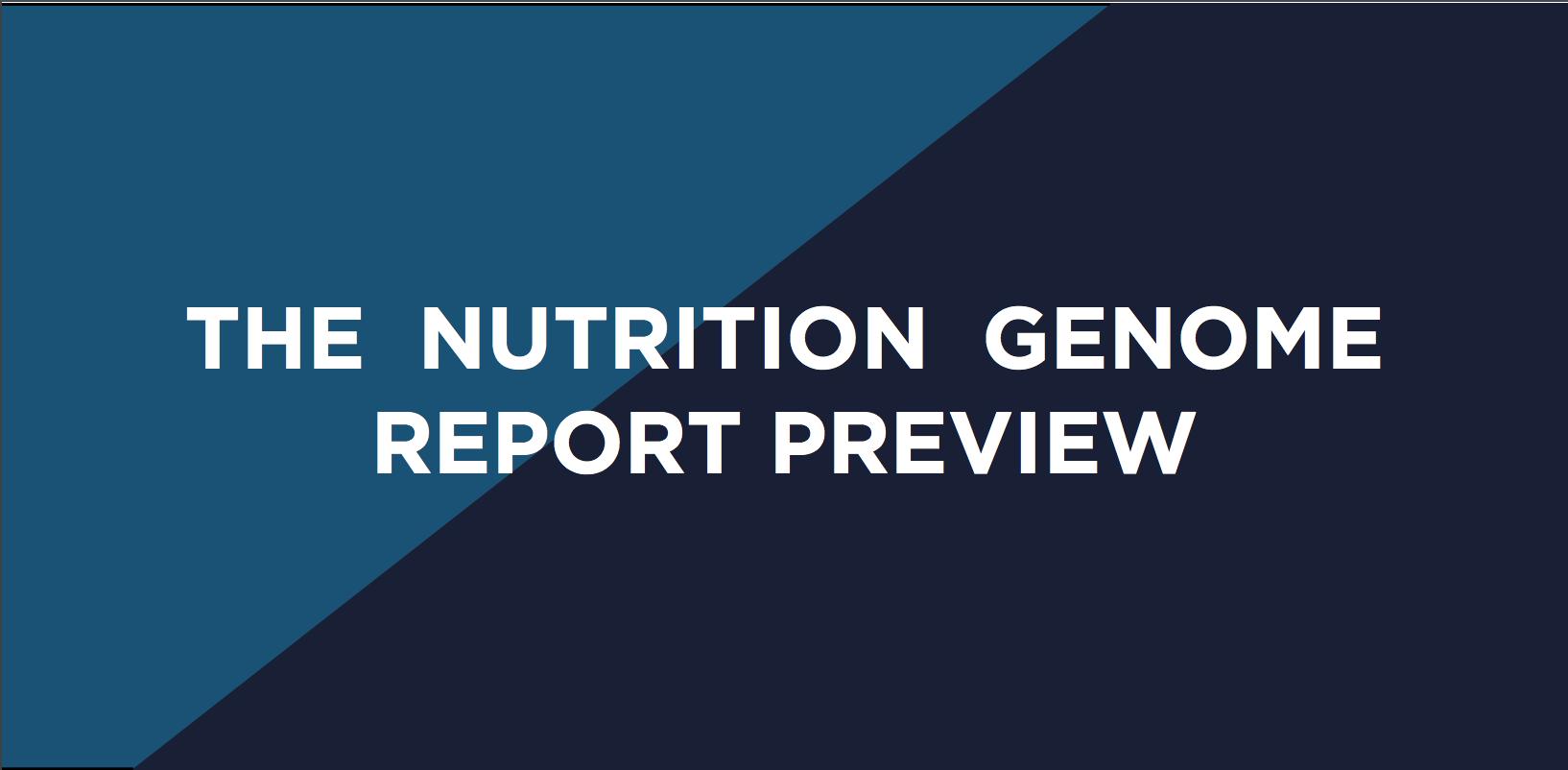 Basic Guide to Nutrigenomic Testing