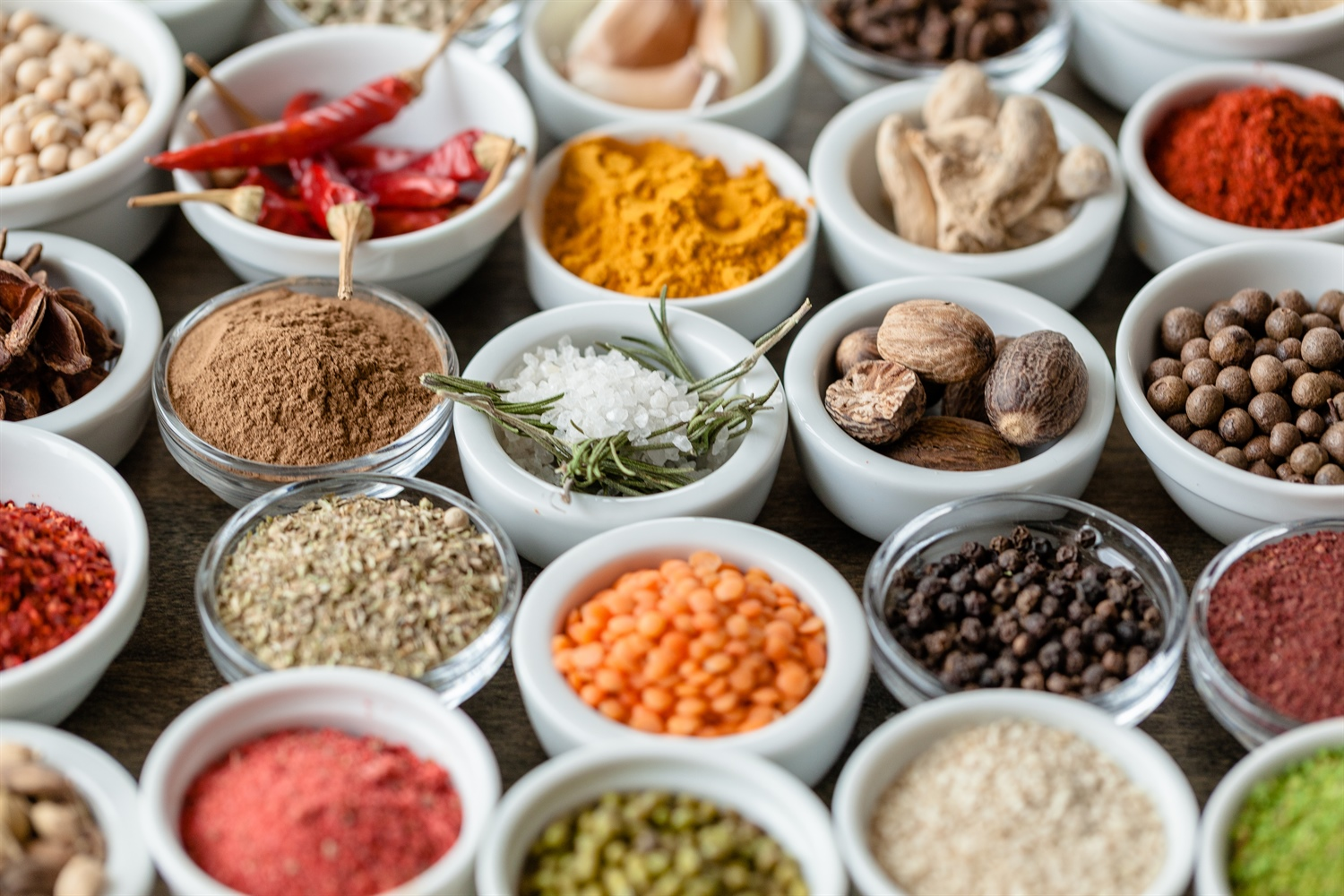 Healthy spices to help balance estrogen as part of a DNA health report
