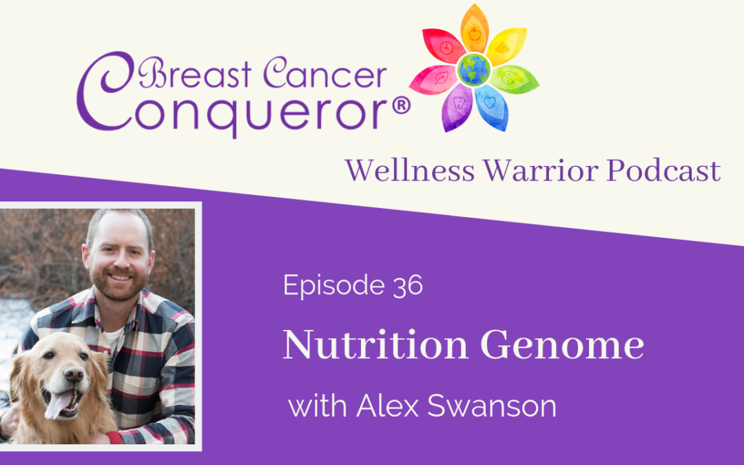 Wellness Warrior Podcast with Alex Swanson on Breast Cancer